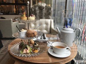 Afternoon tea at the Baccarat Hotel I