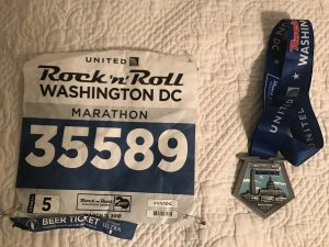 The people you meet running a marathon in D.C.